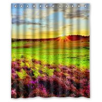 beautiful sunrise - High Quality Modern Design Polyester Shower Curtain Waterproof Print Beautiful Scenic Sunrise and Sunset Bath Curtains quot x quot