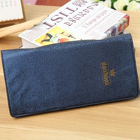 Wholesale Donbook Card Stock Large Capacity High Quality Business Card Holder Leather Card Cases Pieces Cards