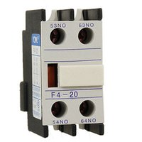 auxiliary contact block - Industry Circuit Breaking Auxiliary NO Contacts Block