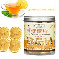 Wholesale Top Quality Freeze Dried Lemon Slice Citrus Limon Tea Health Benefit Burning Fat Rich Vitamin C Freeze Dried Lemon Drop Shipping
