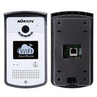 bell wireless network - KKMOON WIFI Video Doorbell MP Network Home Doorphone Wireless Visual Phone Control Outdoor Indoor Door Bell with Camera order lt no tra