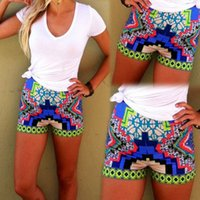 board printing - 2015 retail New Ladies Womens Girl Floral Flower Print Beach Board Swimming Hot Pants floral Shorts