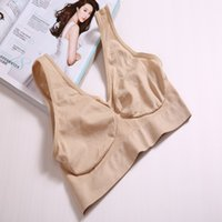 Wholesale Hot Selling Bra Sizes Seamless Ladies Underwear Microfiber Pullover Bra Colours