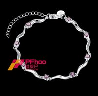 america charms - Hot explosion models popular in Europe and America exquisite sparkling bracelet Ms Xiaoqing new BKH007