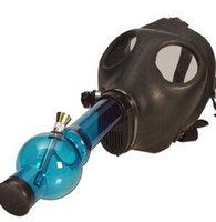 Cheap Water smoking pipe Best Gas Mask Bong