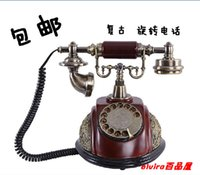 antique caller id phone - Vintage fashion antique telephone american fashion caller id hands free belt swivel plate dial phone