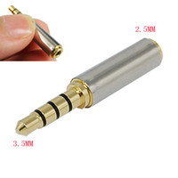 Wholesale High Quality mm Female to mm Male Audio Stereo Headphone Converter Adapter Gold