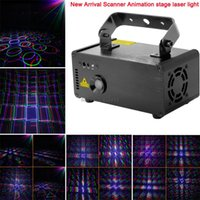 animation laser system - new arrival mw RGB laser projector animation scanner remote DJ lighting Dance Show bar disco Party Stage Light Show system