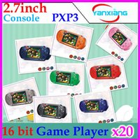 2.7 inch handheld game console - 2014 Hot Sale Slim Station Handheld Game Console PXP3 Bit inch Color Screen Game Player RW PXP3
