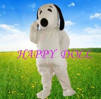 2016 EPE Taille adulte Expédition Snoopy Dog Mascot Costume Halloween Chirastmas Parti Fancy Dress gratuit