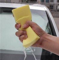 Wholesale Macroporous hurt car paint free thick Super wear resistant automotive car wash sponge coral car wash cleaning sponge