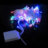 flash light - Spot LED string lights flashing Christmas birthday wedding decoration New Year holiday decoration multicolor lights meters