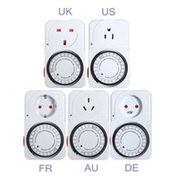 Wholesale Brand new Programmable Switch Plug Power Mechanical Electrical Program Energy Saver Hour Timer