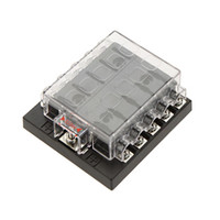 Wholesale High Quliaty Car Fuse Box Way Circuit V DC Waterproof Blade Fuse Box Block Holder A Auto Car Boat Fuse Box