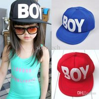 best baby sun hat - Best selling Cute Kids Boys Girls HatS Baseball Hat Sun Hunting Letter Print Baby Cap Adjustable Hat