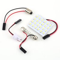 auto antenna adapter - GPS T10 W5W C5W C10W Festoon mm mm Adapters LED smd auto Panel lamp reading Lights Car interior map Dome light V