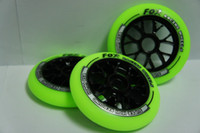 aggressive inline skates wheels - aggressive mm A skate wheel fast H yellow inline speed