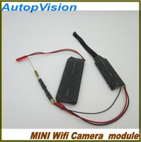 Wholesale Wireless WIFI IP P2P Camera Module Board HD CCTV Camera Surveillance Camcorder DV DVR Monitor By Phone or PC