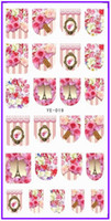 animals nail art - 1X Water Transfers Stickers Nail Decals Nail Art Beauty FULL COVER FLOWER ROSE LILY FRENCH ANIMAL GIRL LADY YE019