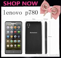 Lenovo P780 original 5.0 pulgadas Gorila Clase teléfonos móviles android MTK6589 Quad Core 1.2GHz 4000mAh batería de 8.0 megapíxeles cámara de doble SIM