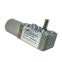 Wholesale 12V R DC Worm Geared Motor With Gear Reducer Gear Box Mini Robot Motor