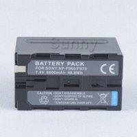 attery Pack para Sony NP-F330, NP-F530, NP-F550, NP-F570, NP-F770, NP-F930, NP-F950, NP-F960, NP-F970, NP-F970 / B InfoLITHIUM de la serie L de la batería p ...