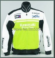 Wholesale motorcycle jacket cool winter cotton motorcycle coat for kawasaki jacket