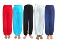 Wholesale Hot sale Tai Chi Pants Unisex Morning Exercise Martial Arts Kung Fu Trousers Yoga Bloomers Uniforms