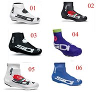 Wholesale Newest Castelli SIDI Cycling Shoe Covers Jersey Ciclismo Overshoe Bicycle Shoes Care Cycling Tight Bike Kit Windproof MTB Cycling Protective