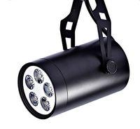 Wholesale 220V W LED track light led track spot lamp lighting white warm white for Clothing store backdrop