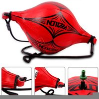 Wholesale MMA Boxing Training Punching Bag Speed Ball Floor to Ceiling Ball PU leather