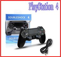 Wholesale HOT PS4 PlayStation Bluetooth Wireless USB Wired Game Controller Gamepad Joystick Dualshock PS USB Cable game Accessories