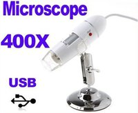 microscope usb 400x - 400X LED USB Digital Microscope Endoscope Magnifier Camera White Freeshipping