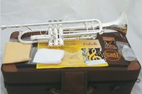 Wholesale the trumpet Vincent Bach LT S Baja Baja silver trumpet musical instrument playing the trumpet