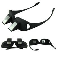 Wholesale Amazing Lazy Creative Periscope Horizontal Reading TV Sit View Glasses On Bed Lie Down Bed Prism Spectacles the Lazy Glasses