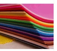 fabric polyester - SPECIAL OFFER MIX COLOR Felt Fabric Polyester DIY felt fabric non woven CM X CM