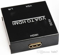 Wholesale Details about HD p HDMI VGA Mini HDMI Scaler Box convertitore digitale Video Audio adatta