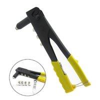 Wholesale new design DIY Tools Pop Rivet Gun Rivets Different Nozzles Rivet Gun Tools home tools