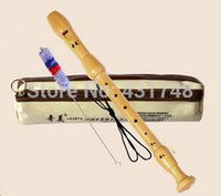 alto recorder - British Eight Hole Alto Recorder Maple material EMS