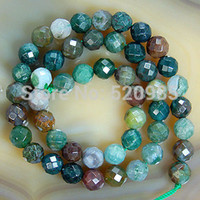 faceted gemstones - mm Faceted Natural Indian Agate Round loose stone jewelry Beads Gemstone Agate Beads