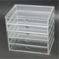 acrylic makeup organizer - Clear Rectangle Acrylic Makeup Organizer Cosmetic Storage Box