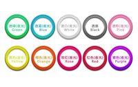 Wholesale 2016 Universal LED Luminous Ring Bumper Case Frame Glow TPU Silicone Rubber Lighting Wrist Bracelet Case wristband Bracelets hair ring