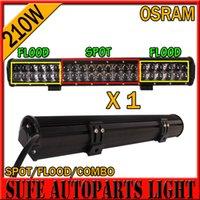 Cheap 20 inch 210W LED Light Bar CREE ATV Car OSRAM LED Work Offroad Light Bar 4x4 Wagon AWD SUV Trucks Beam Combo 4WD SUV DC 9~32V