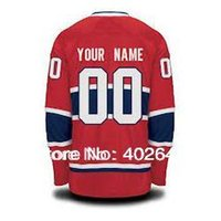 Cheap 2015 Montreal customized custom hockey jersey, red, white, black ice colors, personalized jersey, pls read size chart before order