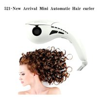 Wholesale 2015 New Brand Mini Automatic Hair curler Hair Styling Tools Roller Hair Curl Curling Machine LCD Screen Digital Display