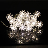 ball shaped flowers - 4M led Flower Shape Waterproof strings light Hanging Bubble Ball lamp Xmas Wedding Party Holiday Christmas Decoration lights