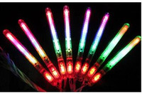 Wholesale LED Flash Light Up Wand Glow Sticks Kids Toys For Christmas Party XMAS Gift Birthday