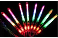 Wholesale LED Flash Light Up Wand Glow Sticks Kids Toys For Christmas Party XMAS Gift Birthday