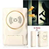 automatic window switch - Top Sale Plastic Indoor Outdoor Window Security Safely db Door Magnetic Switch Alarm Automatic Alarm White