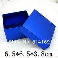 aluminum foil recyclable - Blue Paper Soap Container Boxes Aluminum foil Paper Box Wedding Gift Candy Packaging Boxes